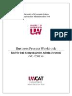 CAT System 1.0 End to End Business Process Workbook System v10 1
