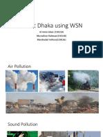 Smart Dhaka Using WSN1