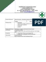 7.4.1.5 Bukti Evaluasi Audit Klinis