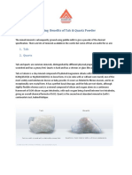 Surprising Benefits of Dolomite Calcite by Anand Talc