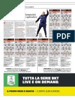 La Gazzetta Dello Sport 20-10-2018 - Così in Campo