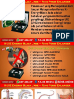 K Energy Black Jade K Link Di Grogot WA 08114494181