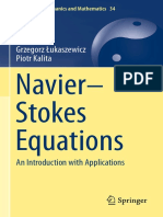 Navier Stokes Equations an Introduction With Applications 2