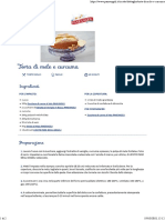 Ricetta Torta Di Mele e Curcuma - Paneangeli