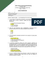 SURP Mock-Examination w Ans