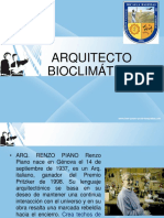 Arquitecto Bioclimatico RENZO PIANO