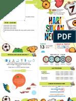 Buku Program Hari Sukan Negara [contoh)