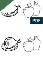 Food Vocabulary Book