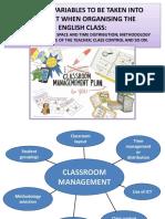Presentación. Tema 22 - Classroom Management