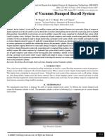 Development of Vacuum Damped Recoil System