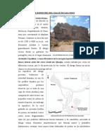 ARTE RUPESTRE DEL VALLE DE SALCEDO - copia.docx