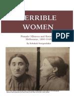 Terrible Women