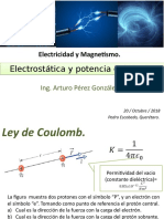 Electricidad y Magnétismo.