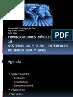 Clase 10. Comunicaciones M¾viles - GSM-GPRS