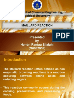 Maillaard Reaction Presentation