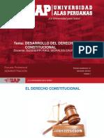 PLANTILLA UAP 2018-2 Sesion 1. El Desarrollo Del Derecho Constitucional Peruano