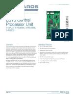 E85010-0133 -- EST3 Central Processor Unit