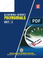Unit-2 Polymonials Core