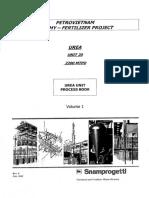 Urea Unit Process Book