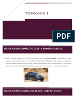 Los Mejores Autos México 2018