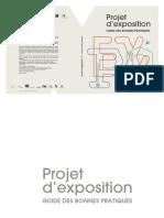Projet d'exposition - Guide Des Bonnes Pratiques Version Finale Bdef 140128