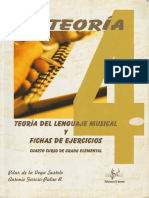 Teoria Lenguaje Musical y Ejercicios 4º Elemental
