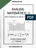 Solucionario Analisis Matematico II-eduardo Espinoza Ramos Editado