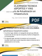 Transporte Aereo Infraestructura- II Jornadas Tyv 2016 - Juan Carlos García