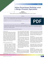Pemilihan Modalitas Pemeriksaan Radiologi untuk Diagnosis Benign Prostatic Hyperplasia.pdf