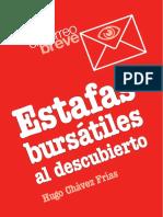 Estafas Bursatiles Al Descubierto. LIBRO