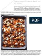 5 Receitas Maravilhosas Para Transformar Chips de Batata Doce Num Jantar Fácil Durante a Semana