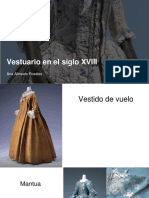 Vestuario en el siglo xviii