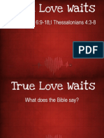 true-love-waits.ppt