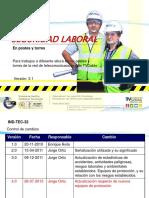 IND-TEC-32.- Inducción Para Trabajo en Alturas v3.1 (PARA REVISIÓN)