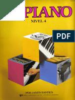 Piano Basico de Bastien Piano Elemental a Para El Pequeno Principiante