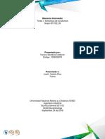 Segunda actividad de quimica general UNAD