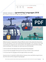 @SP-1.Most Used Programming Languages 2018_ Popular Programming Languages
