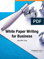 English White Paper Writing for Business