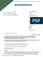Método de Taguchi Para Optimizar Calidad de Postres Funcionales Destinados Al Adulto Mayor y Estudio de Prefactibilidad Técnico Económica