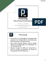 Linguagem de Programação Processing