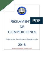 Reglamento Competiciones 2018 2018-03-09