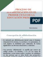 El Proceso de Alfabetización en El Primer Ciclo Maria Santana