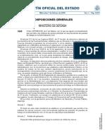 Orden DEF 99 2018 Puestos en Ad Civil