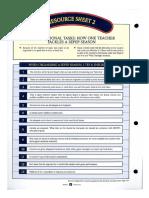 prep checklist