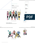 Personajes de Power Rangers Samurai para Imprimir.pdf