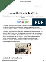 As mulheres na história - Estudo Prático.pdf