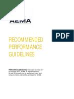 Directrices Recomendadas de Rendimiento - Aema - Asphalt Emultions Manufacturers Association