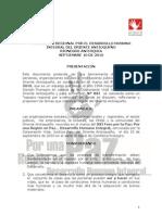 Manifiesto Regional por el Desarrollo Humano Integral del Oriente Antioqueño