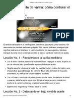 Análisis de Aceite de Varilla_ Cómo Controlar El Aceite
