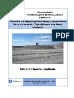 Determinación de Los Parámetros Fisico-químicos de Calidad de Las Aguas